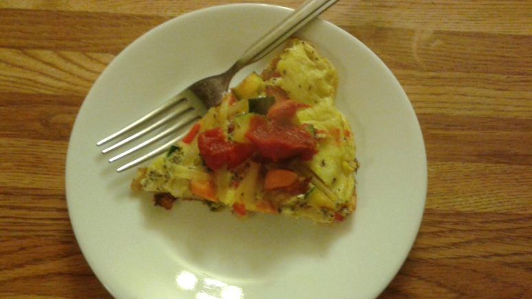 Frittata Plate