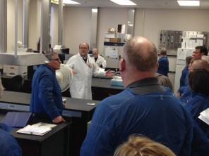 Visit of the Veterinary Diagnostic Laboratory with Dr. Torrison