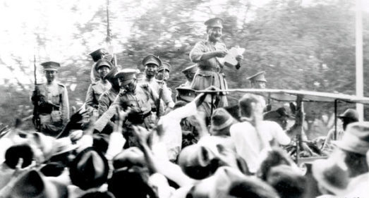Siamese Revolution in 1932 at the beginning of the film industry in Thailand