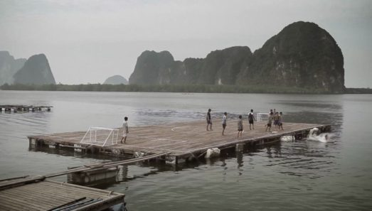 TMB panyee fottball club floating island the glue society film