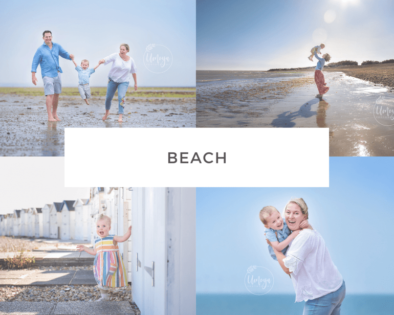 Beach Family Photos, Sussex