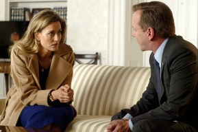 "DESIGNATED SURVIVOR - ""The Enemy"" - Kirkman learns who is behind the attack and needs to grapple not only with the prospect of war, but brewing domestic troubles as well. Kirkman taps Emily to monitor the domestic situation, while Alex may be in for more than she bargains for when she seeks out help from Hookstraten, on ABC's ""Designated Survivor,"" WEDNESDAY, OCTOBER 12 (10:00-11:00 p.m. EDT). (ABC/Ben Mark Holzberg) NATASCHA MCELHONE, KIEFER SUTHERLAND"