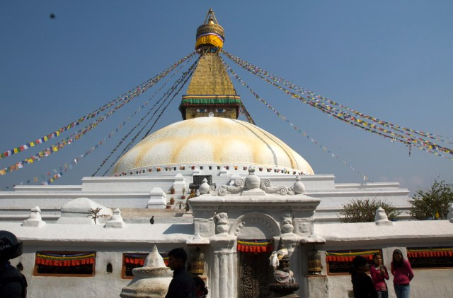 Templo budista em Katmandu