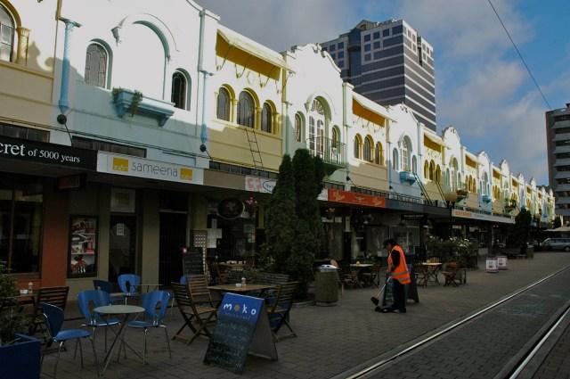 New Regent Street - O estilo das Missões Espanholas