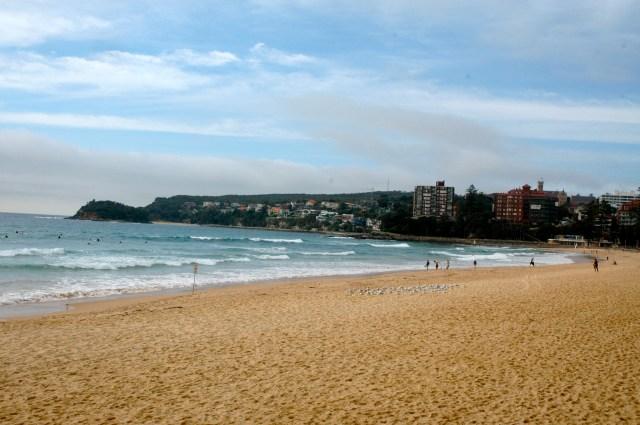 A Praia de Manly