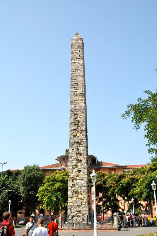 O Obelisco de Constantino Vii