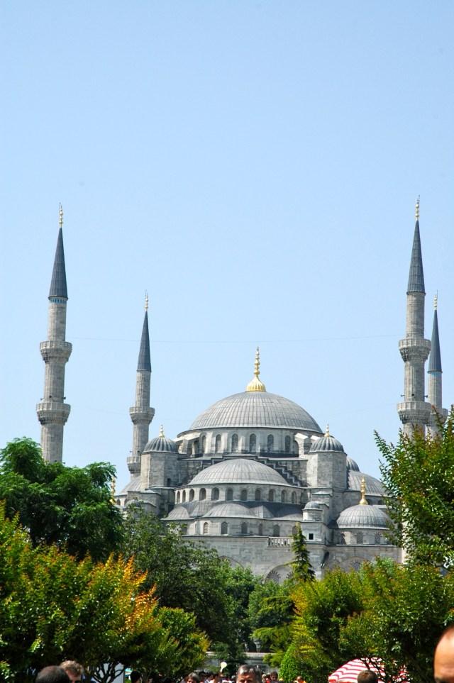A Mesquita do Sultão Ahmet