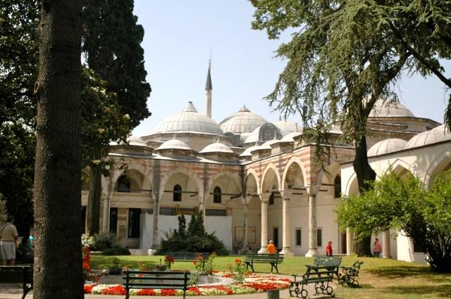 Pátio interno do Palácio Topkapi