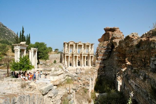 Vista panorâmica de Éfeso