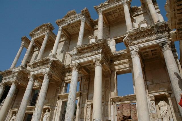 A magnífica Biblioteca de Celso em Éfeso