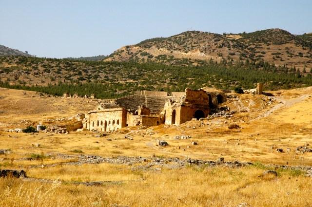 O Anfiteatro Romano de Hierápolis