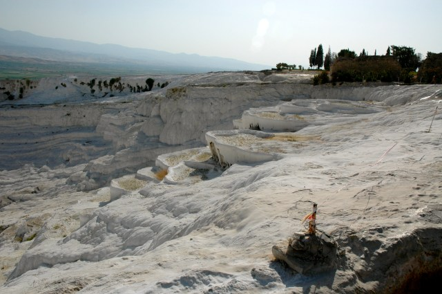 As cascatas de pedra de Pamukkale