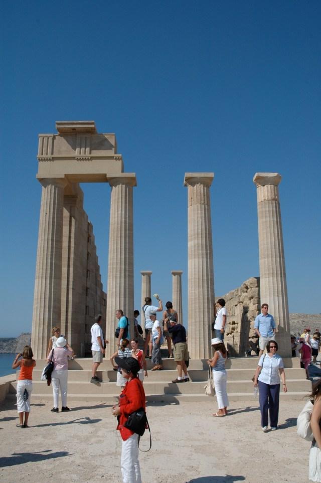O Templo de Atena