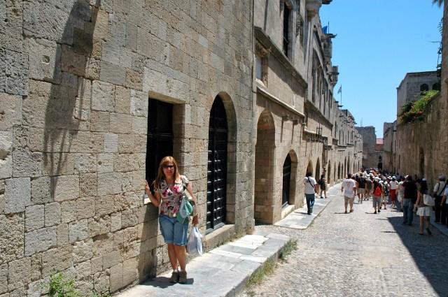 A medieval Rua dos Cavaleiros