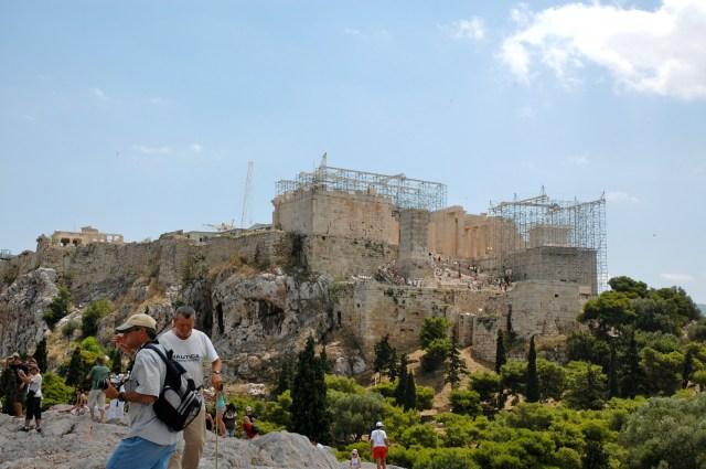 O grande conjunto da Acrópole de Atenas
