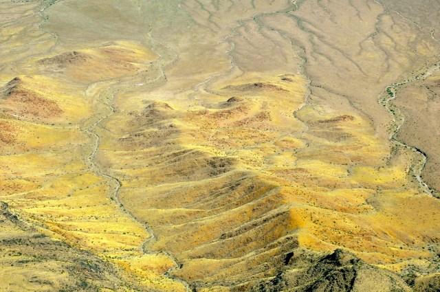 As cores do deserto são muito fortes