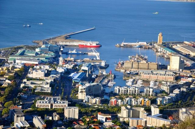 O Waterfront de Cape Town sofreu uma forte e bem sucedida intervenção urbana.