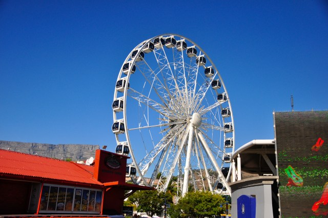 A Roda Gigante do V & A Waterfront