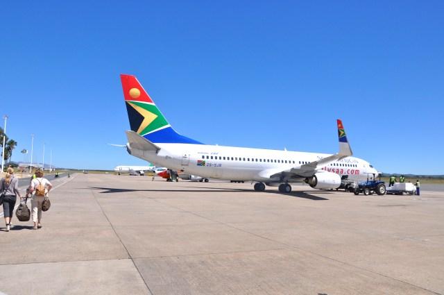 Deixamos a Namíbia para trás. Novo destino - África do Sul.