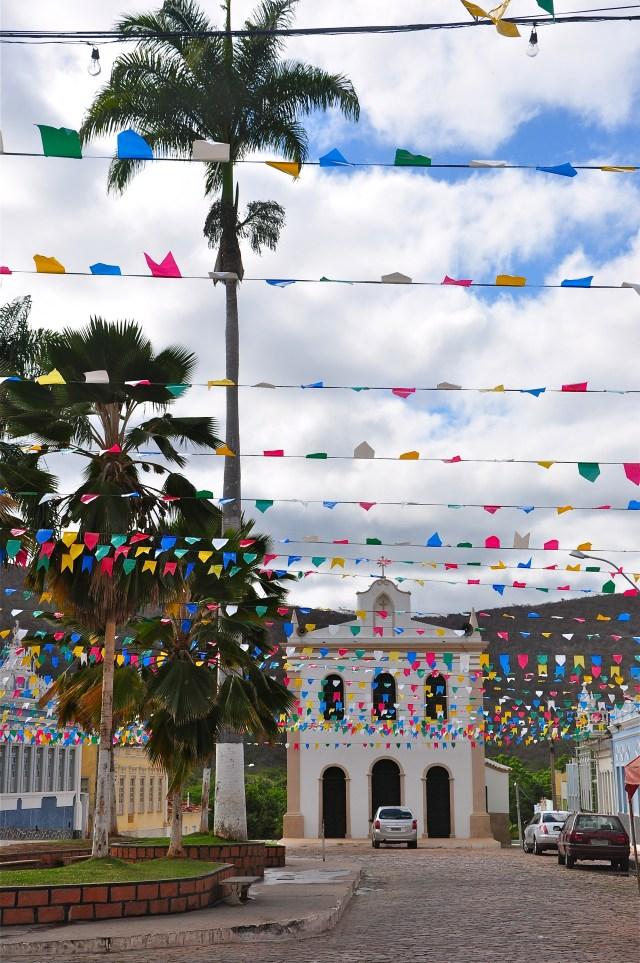 A Igreja Matriz da cidade de Palmeira.