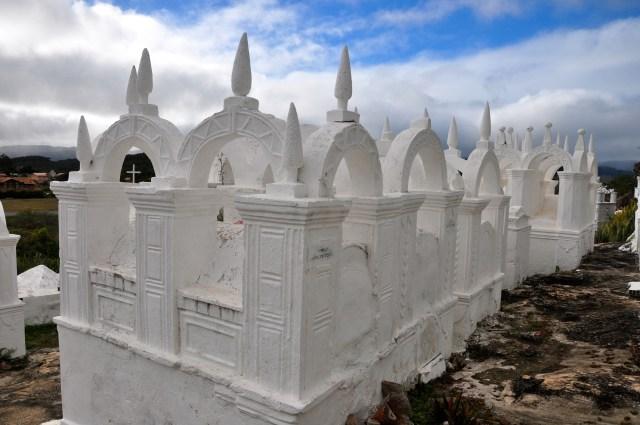 Mausoléus no Cemitério Bizantino.