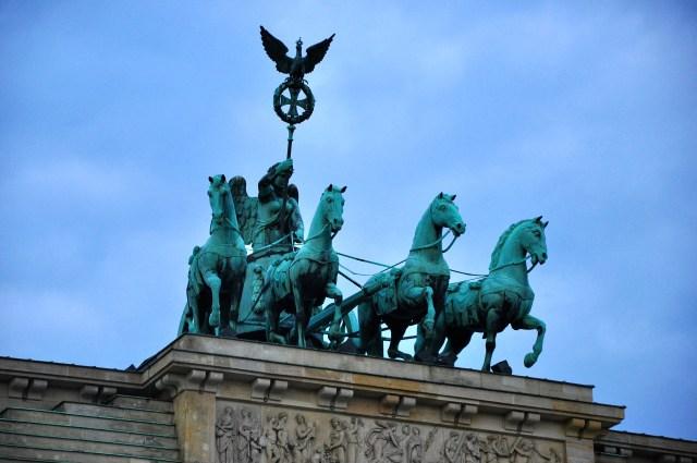 A Quadriga do Portão de Brandemburgo