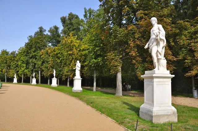 Trechos do Parque Sanssouci
