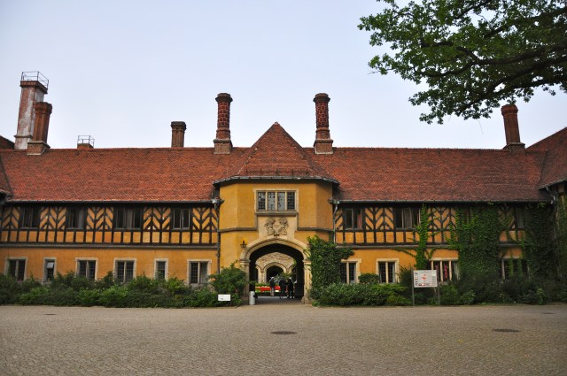 Detalhes do Palácio Cecilienhof