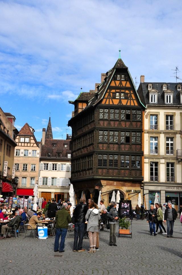Estrasburgo - Uma cidade francesa com forte influência alemã.