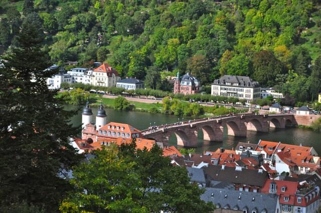 A Ponte Velha de Heidelberg