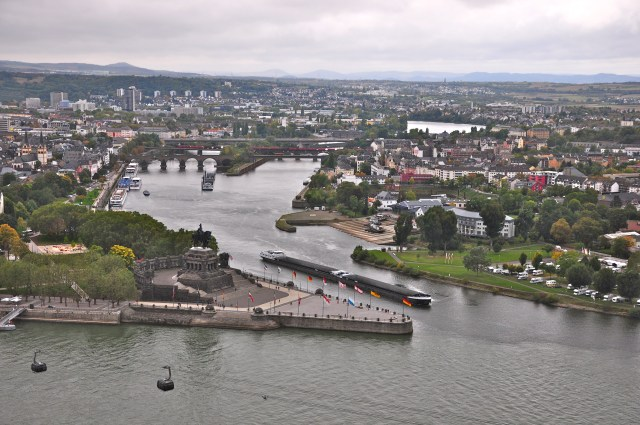 Koblenz - A Esquina Alemã
