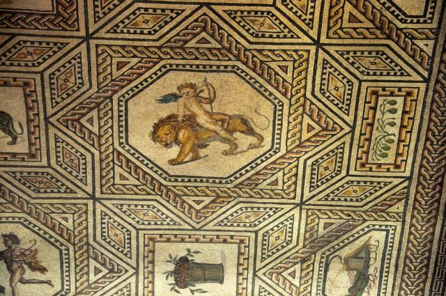 Mosaico romano em Colônia