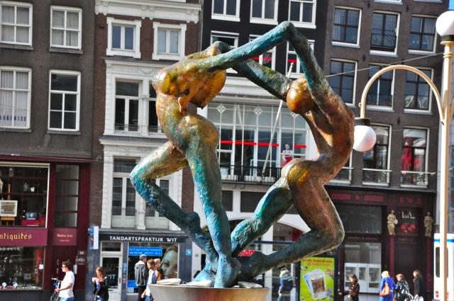 Arte nas ruas de Amsterdam