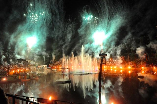 Nativitaten - Um espetáculo de água e fogo.
