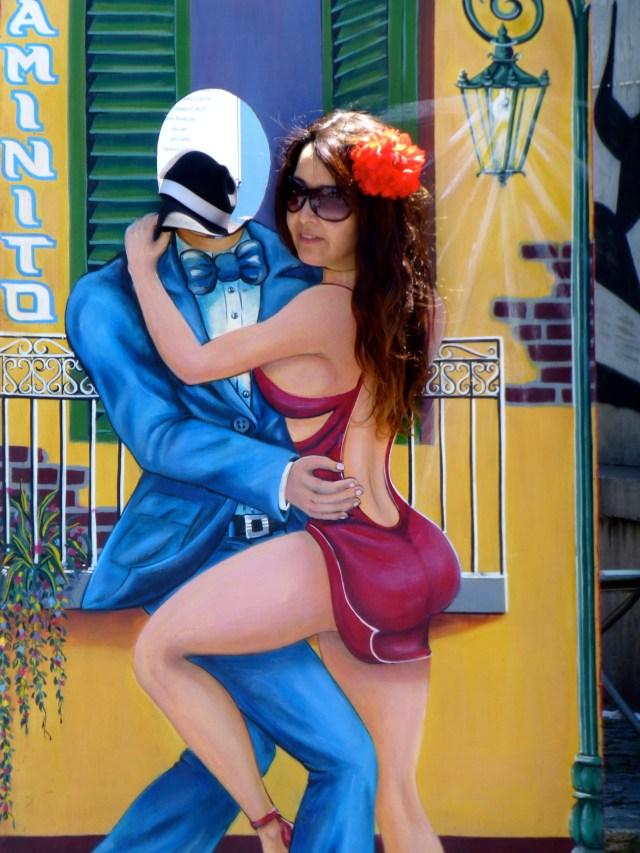 Tango em Caminito.
