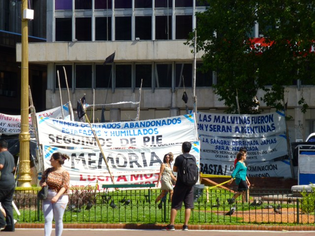 Protesto na Praça de Maio