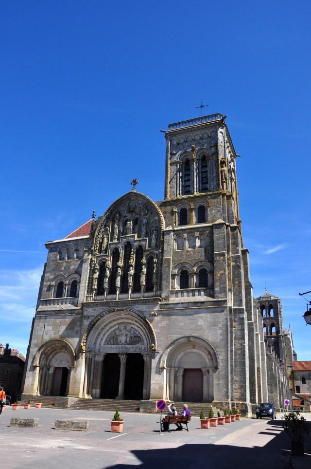 A Basílica de Santa Madalena em Vézelay