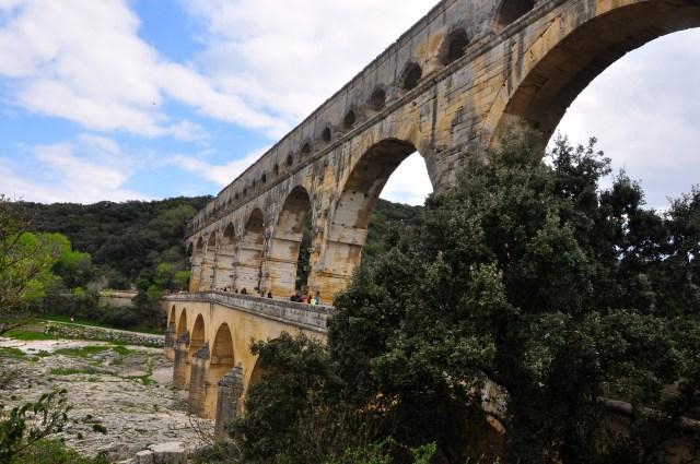 O maravilhoso aqueduto romano.