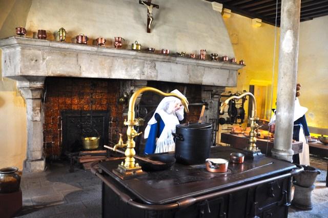 A cozinha do Hotel Dieu
