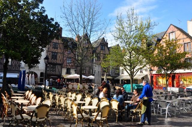 O centro medieval de Tours