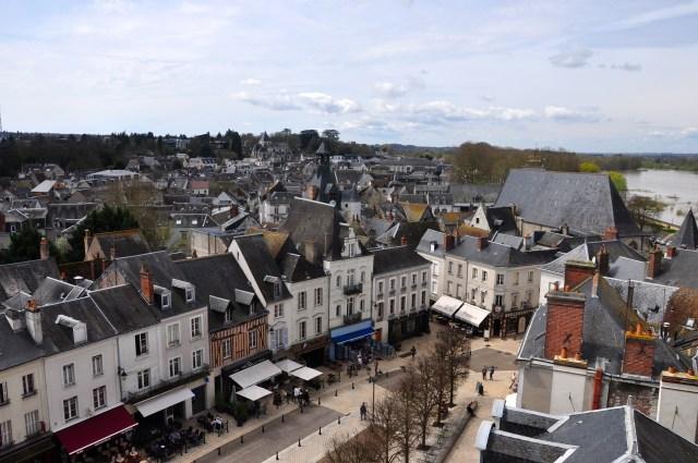 Casario na cidade de Amboise