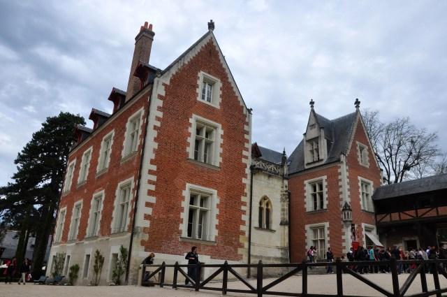 O Castelo Clos-Lucé onde viveu Leonardo da Vinci