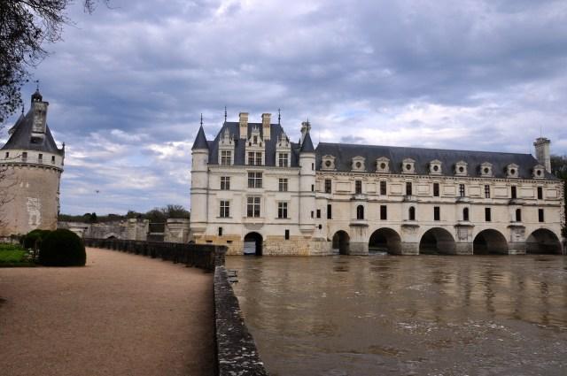 O Castelo de Chenosceau no Vale do Loire.