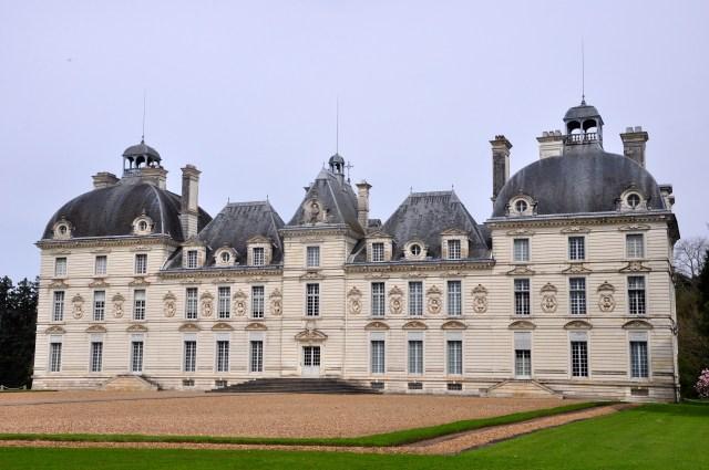 O Palácio Cheverny, ainda ocupado como propriedade particular.