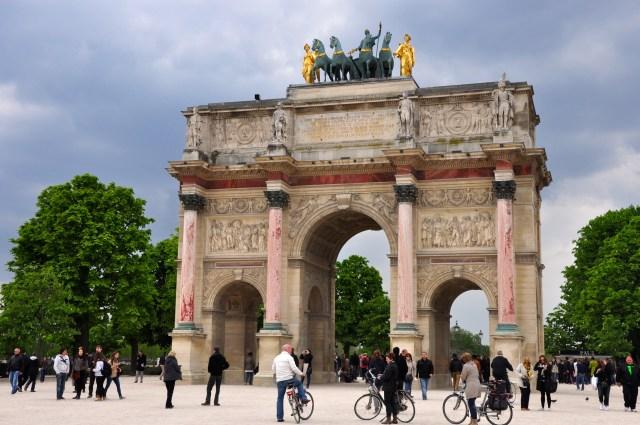 O Arco do Triunfo do Carrossel