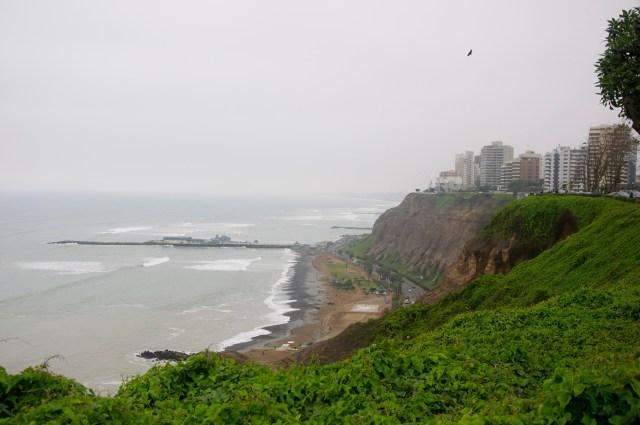 Lima é uma cidade sempre nublada no inverno.