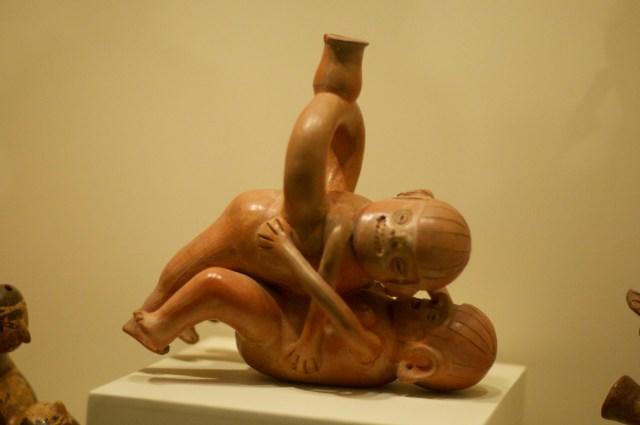 Vasos eróticos pré-colombianos