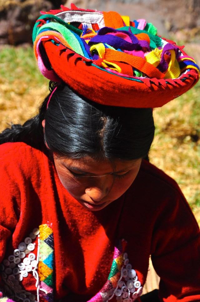 Os povos peruanos das montanhas