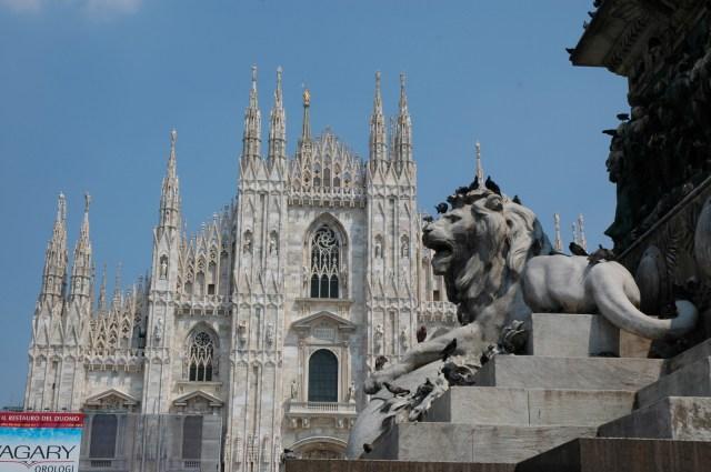 Um dos símbolos de Milão