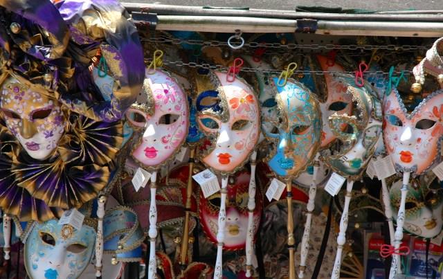 Máscaras de Veneza.